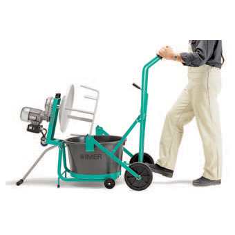 1193974 Imer Dump Dolly Cart for Mini-mix 60