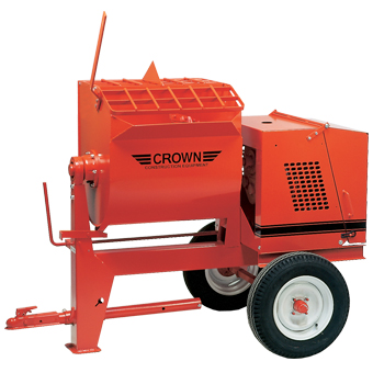 1092 Crown 6SR Towable Mortar Mixer