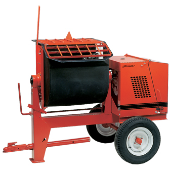 1093 Crown 6PR Towable Poly Mortar Mixer