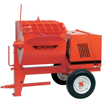 1096 Crown 10S Towable Mortar Mixer