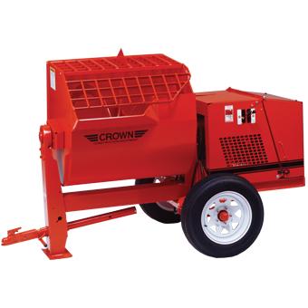 1098 Crown 12SH Hydraulic Mortar Mixers