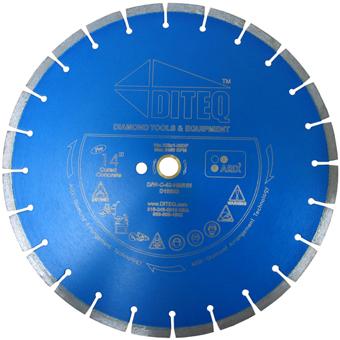 7345 Diteq ARIX C-43 Segmented Diamond Blade