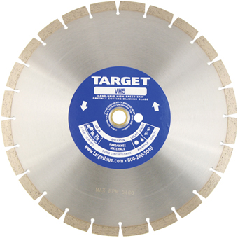 7680 Target by Husqvarna VH5 High Speed Diamond Blade