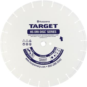 7185 Target By Husqvarna HS5 Dri Disc Diamond Blade