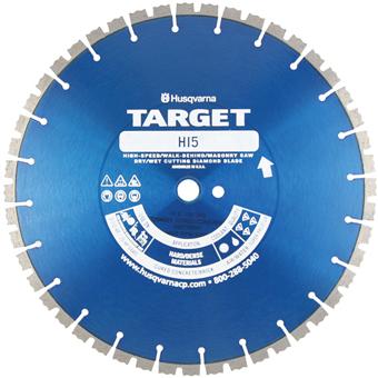 7190 Target by Husqvarna HI5 Concrete Diamond Blade