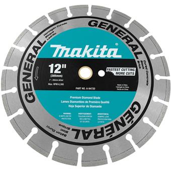 9207 Makita Optimum Segmented General Purpose Diamond Blade