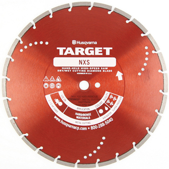 7793 Target by Husqvarna NXS Metal Cutting Diamond Blade