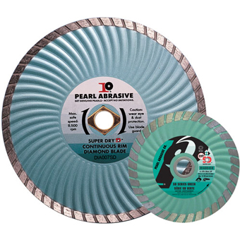 6095 Pearl SD Dry Cutting Turbo Diamond Blade