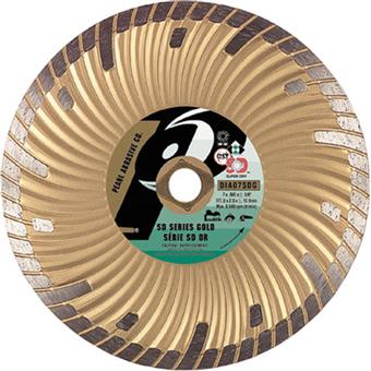 6100 Pearl SD Gold Dry Cutting Turbo Diamond Blade