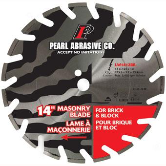LW1412BB 14in Pearl Masonry Blade