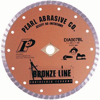 6125 Pearl Bronze Line Dry Turbo Diamond Blade