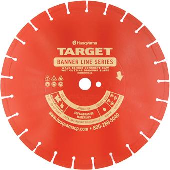 7155 Target by Husqvarna Banner Line Red 450BR Series Blade