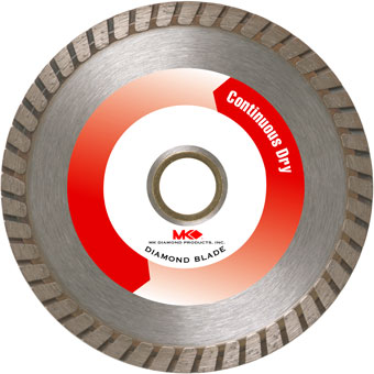 6080 MK-625D Dry Cutting Turbo Rim Blade