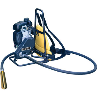 7802 Stow BP-25H 2.5 hp Gas Backpack Concrete Vibrator