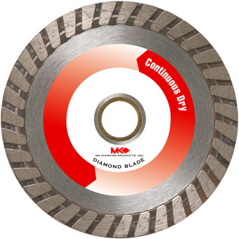 6083 MK-925D Dry Cutting Turbo Rim Blade