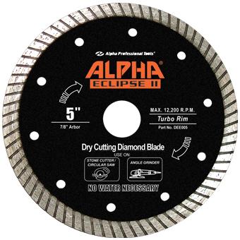 7891 Alpha Eclipse  II & Q Granite Diamond Blade