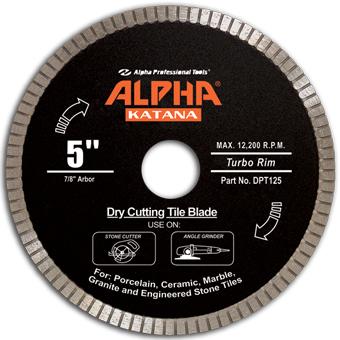 7693 Alpha Katana Dry Tile Blade