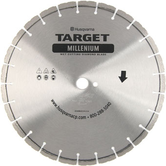 7798 Target by Husqvarna .375in Millenium Diamond Blades