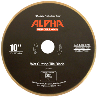 6500 Alpha Porcellana Wet Diamond Blade