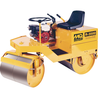 10016 Multiquip R2000H Ride-On Tandem Drum Roller