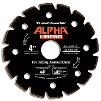 6130 Alpha Libero Dry Marble Diamond Blade