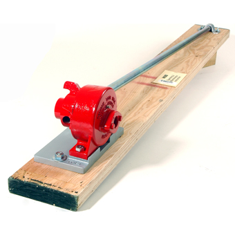 7834 Tolman Hub Style Manual Rebar Cutter/Bender