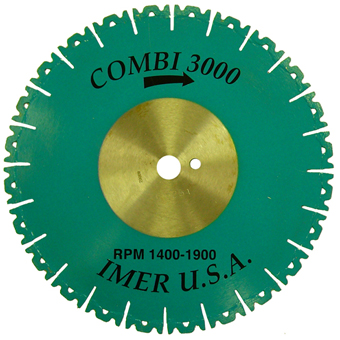 7645 Imer Stoner 14in Diamond Blade