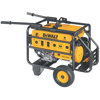 8063 DeWalt DG7000B Portable Generator