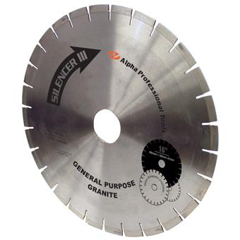 7735 Alpha Silencer III Granite Diamond Blade