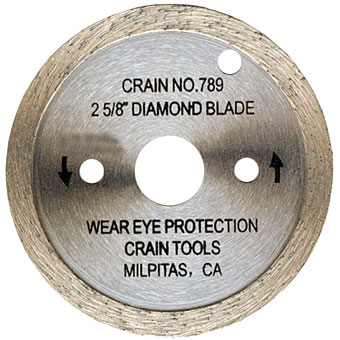 789 Diamond Blade for Crain Toe Kick Saw