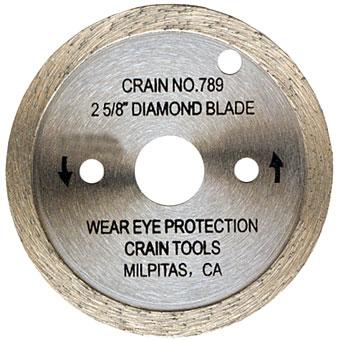 789 Diamond Blade for Crain Toe Kick Saw