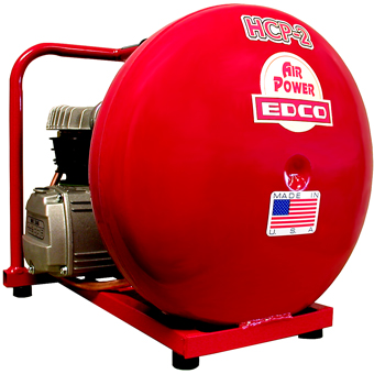 7908 Edco 2 hp Electric Hand Carry Air Compressor