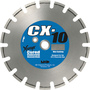 7714 MK-CX-10 Concrete Diamond Blade