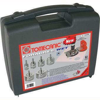 349090 Tomecanic 6 pcs Wet Diamond Drill Bit Kit