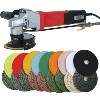 Floor Stone Polisher Pads Natural Hand Held