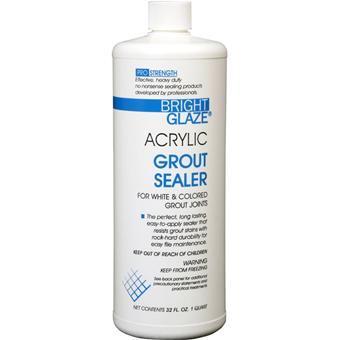 7757 Bright Glaze Acrylic Grout Sealer