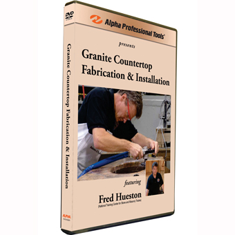 9210 Alpha Granite Countertop Fabrication & Installation DVD