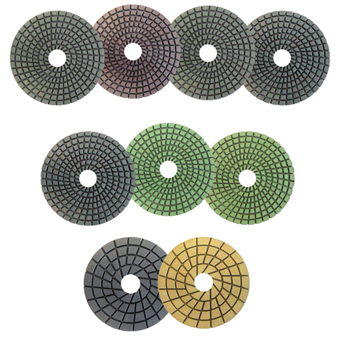 7892 Diamant Boart 5in Premium Wet Polishing Pads
