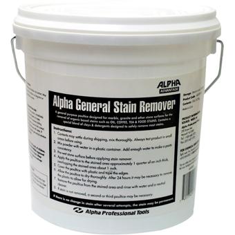 ADGSR05 Alpha General Stain Remover 5 lb