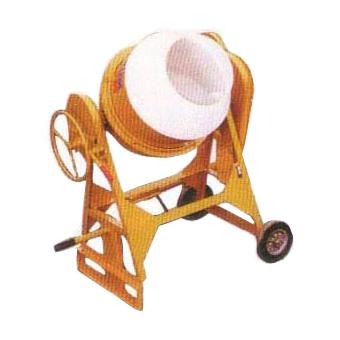 7928 Cleform Gilson 400UT-PL Poly Drum Concrete Mixer 59017