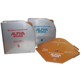 7726 Alpha Straight Corner Rulers