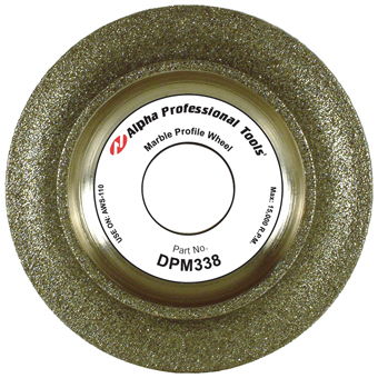 5431 3inx20mm Alpha Marble Profile Wheel