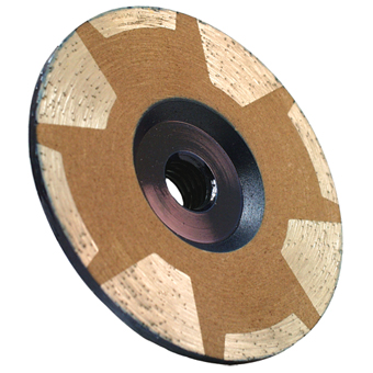5400 Alpha 4in Coarse Continuous Cup Wheel