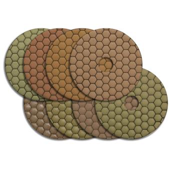 8032 MK 4in Flexible Dry Polishing Discs