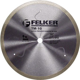 7896 Felker TM-10 Diamond Porcelain Blade