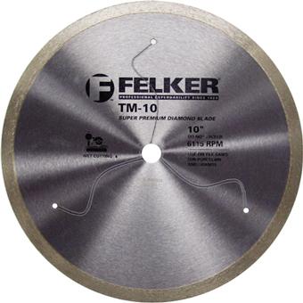 7896 Felker TM-10 Diamond Porcelain Blade