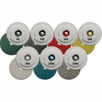8034 MK 4in Snail Lock Polishing Discs