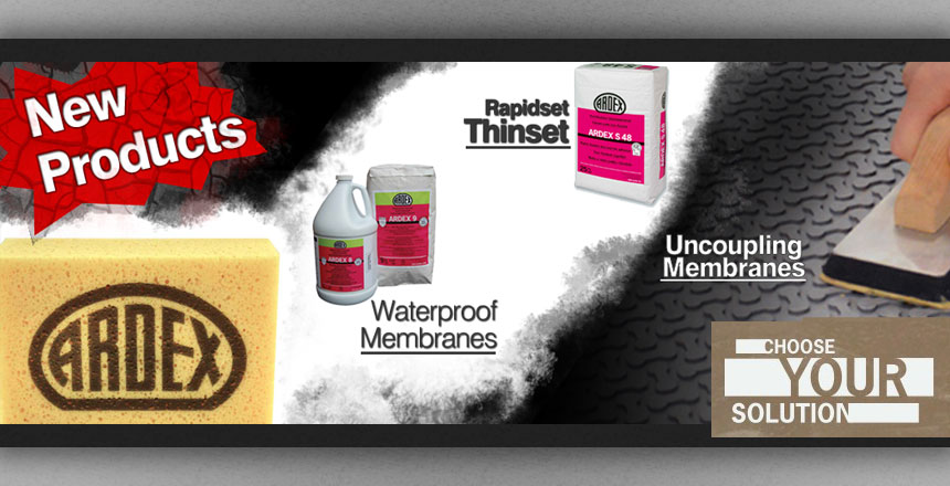 New Ardex Products