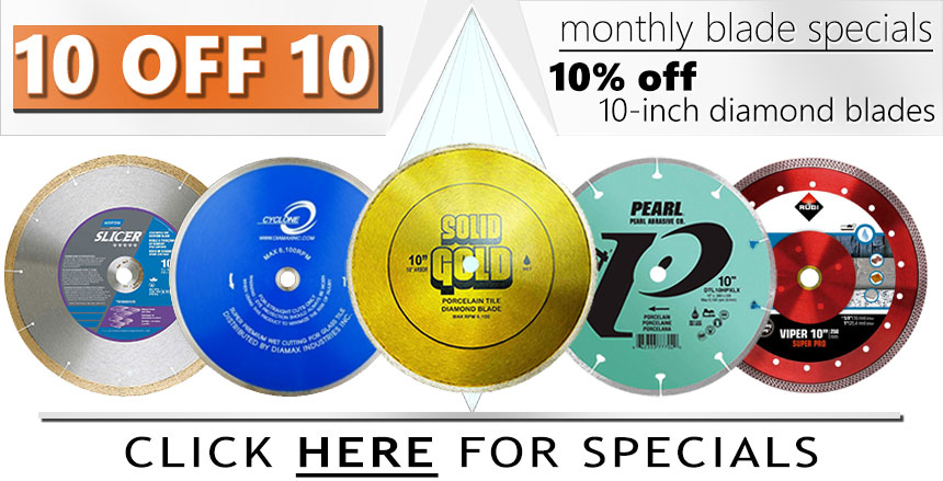 Diamond Blade Promotion