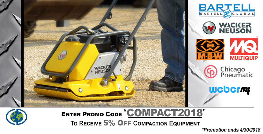 Compaction Equipment Promo